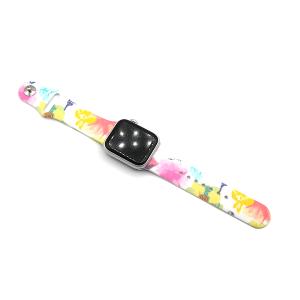 Watch Band 036g 08 38mm 40mm flower multi