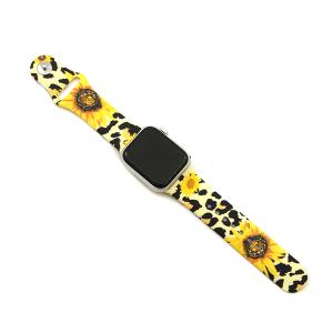 Watch Band 174a 08 38mm 40mm sunflower leopard yellow