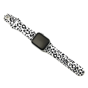 Watch Band 130c 08 leopard print white 38mm 40mm