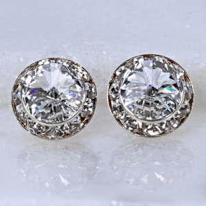 crystal earring 004c 16 crystal avenue stud clear