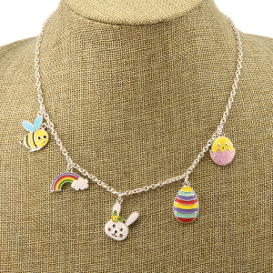 Necklace 1528a 40 Icon Collection assorted easter charms