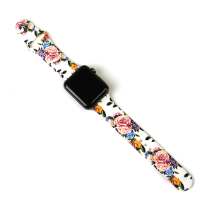 Watch Band 095h 08 42mm 44mm watch band floral