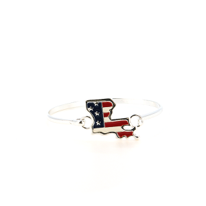 Bracelet 011 47 Oori Louisiana stars stripes usa bracelet