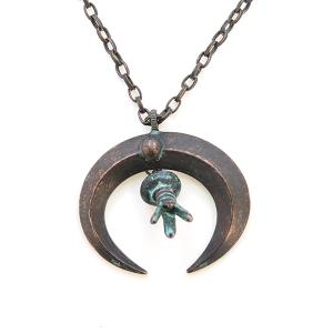 Necklace 1688q 47 Oori Arc Navajo Necklace patina