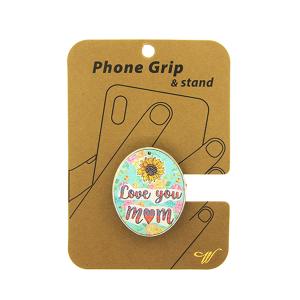 Phone Grip 017b 47 Oori floral love you mom