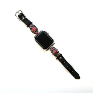 Watch band 075c 38mm 40mm watch band concho black pink