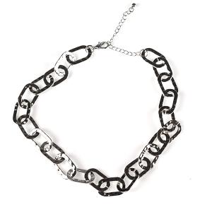 Necklace 802 50 It's Sense choker chain necklace silver