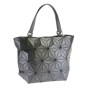 YI 6112 geometric shoulder bag black