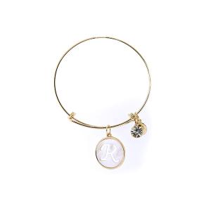 Bracelet 191 64 Isles & Stars mother pearl nacre letter bracelet - R