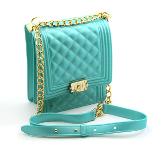 Caleesa 7056 quilted jelly crossbody light green
