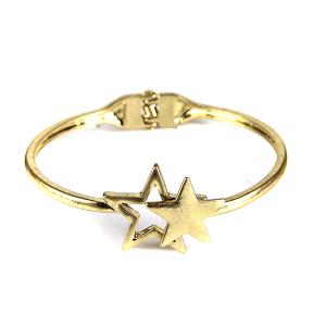 Bracelet 086a 77 Pomina contemporary star bangle gold