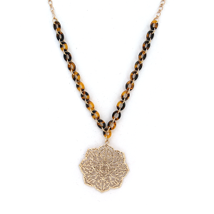Necklace 2092 77 Pomina filigree chain contemporary necklace