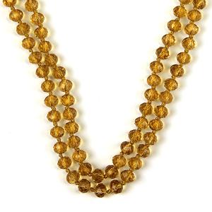 Necklace 820m 77 Pomina 30 60 inch bead necklace light colorado topaz