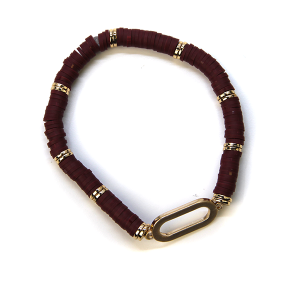 Bracelet 361 78 A Project Contemporary Bracelet Stretch wine
