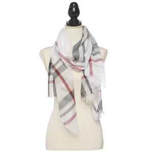 Scarf 045 80 light summer scarf ivory