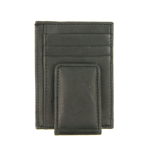 Simple card holder money clip 910e black