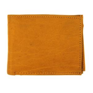 Simple bifold wallet A60 tan