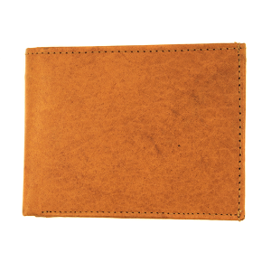 Simple bifold wallet A996 tan