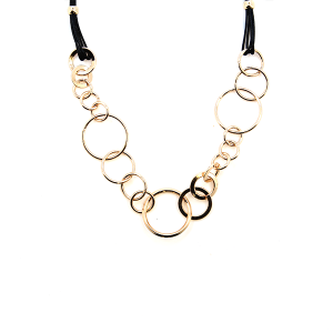 Necklace 127 99 Empire hoop ring string necklace gold
