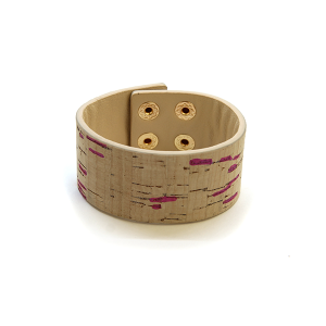 Bracelet 320e 99 Regina leather band bracelet splatter purple