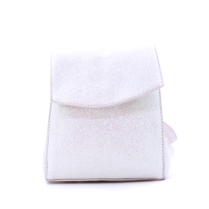 Glitter Mini Bag White AB