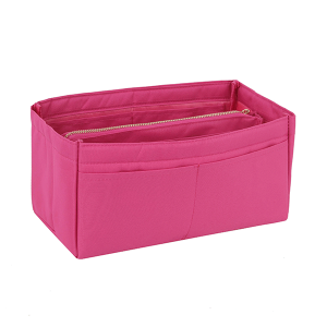 Handbag Republic AC-0005M purse organizer insert medium fuchsia