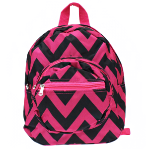 luggage B 5 601 AK mini backpack chevron black pink