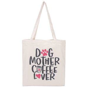 Odiva B8026 shoppers tote dog mother coffee lover