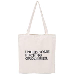 Odiva B8034 shoppers tote I need groceries