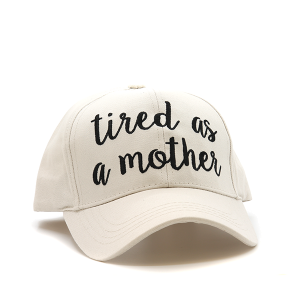 CC Cap 074r tired as a mother beige