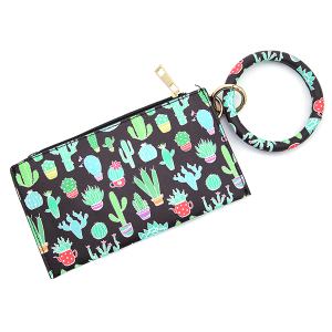 Wrist wallet BB377X226 bijorca cactus black