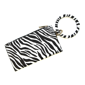 Wrist Wallet BB377X237 Bijorca zebra black white