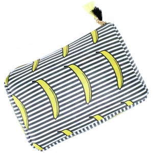Bijorca BG326X085 cosmetic case banana stripe multi