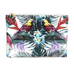 bijorca bg377x118 cosmetic case tropical bird