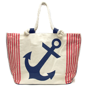 Bijorca BG452X064 anchor rope handle tote bag