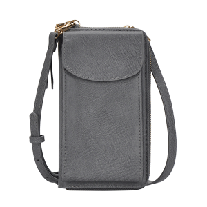 MMS BGA 0814 fashion crossbody wallet gray