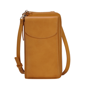 MMS BGA 0814 fashion crossbody wallet mustard