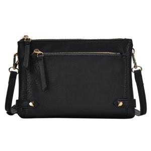 MMS BGA 0821 fashion zipper crossbody black