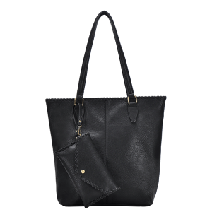 MMS BGA 17955 braided western tote black