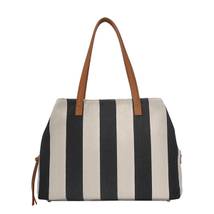 MMS BGS 4313 overnight weekend bag stripe black