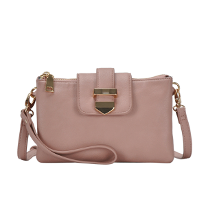 MMS BGT 48604 multi pocket crossbody blush