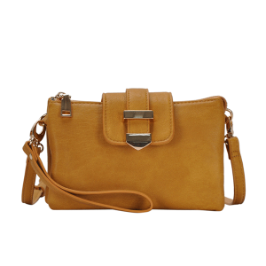 MMS BGT 48604 multi pocket crossbody mustard