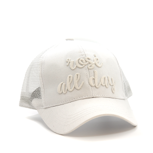 CC Pony Cap 213 Rose All Day Trucker Color Changing white