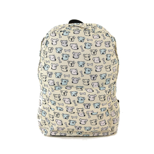 CM A85141CN dog bone backpack beige