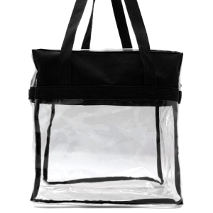 luggage CK CTB clear tote bag black