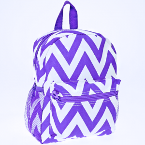 luggage 6012 youth backpack chevron purple