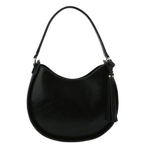 Handbag Republic DX0089 shoulder hobo python snake black