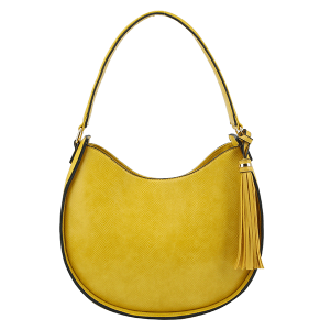 Handbag Republic DX0089 shoulder hobo python snake yellow