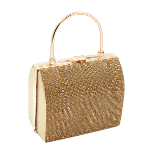 Toami EG10214 evening bag clutch rhinestone gold