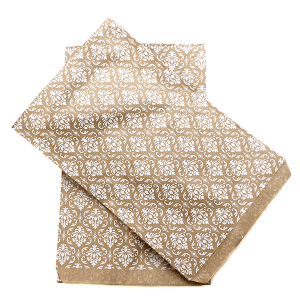 display 6x9 jewelry paper bag damask white